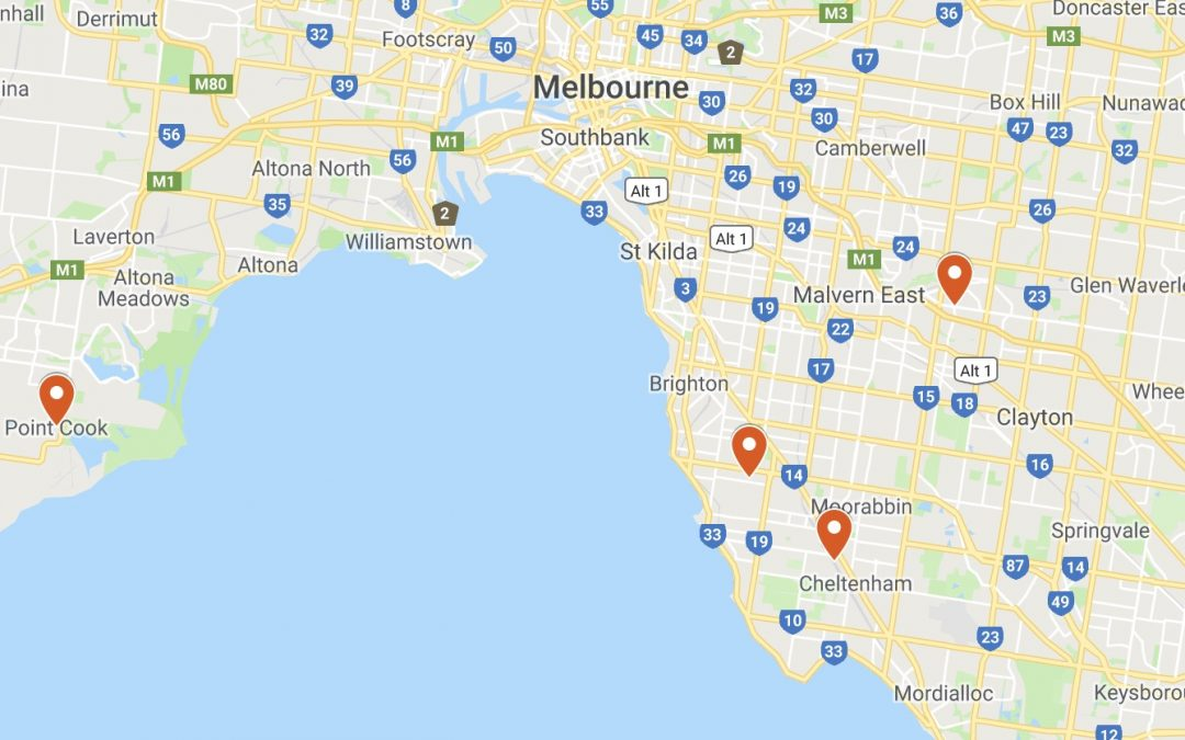 4 x part-time Psychologists for GP clinics in Melbourne suburbs